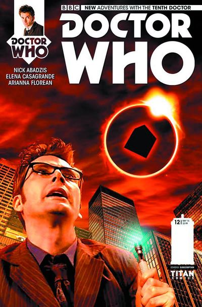 Doctor Who 10th #12 (Subscription Photo)