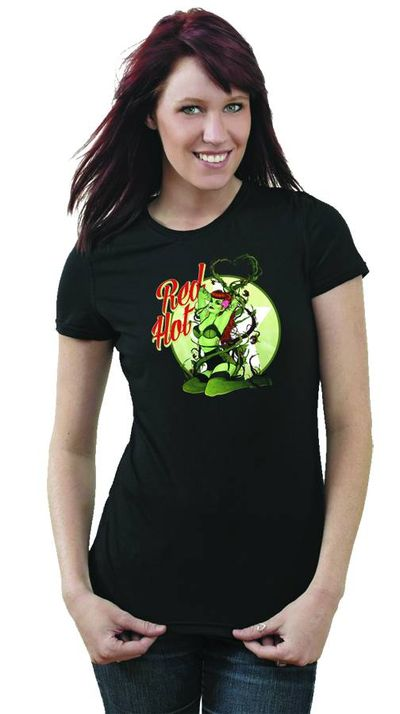 Image of Bombshell Poison Ivy Womens T-Shirt MED