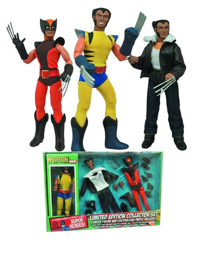 Marvel Le Wolverine 8in Retro Action Figure Set JAN152171U