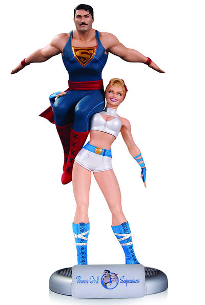DC Comics Bombshells Power Girl & Superman Statue JAN160372X