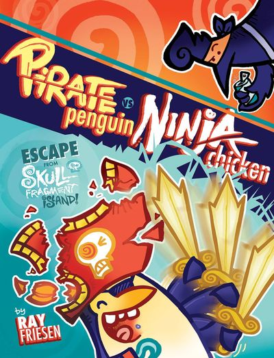 Pirate Penguin vs. Ninja Chicken HC Vol. 02 JAN160456E