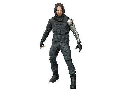 Marvel Select Captain America 3 Winter Soldier Action Figure JAN162252I