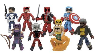 Marvel Minimates Greatest Hits Series 2 Assortment JAN162256U