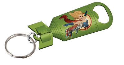 DC Bombshells Supergirl Opener Keychain 24pc Bag JAN162704I