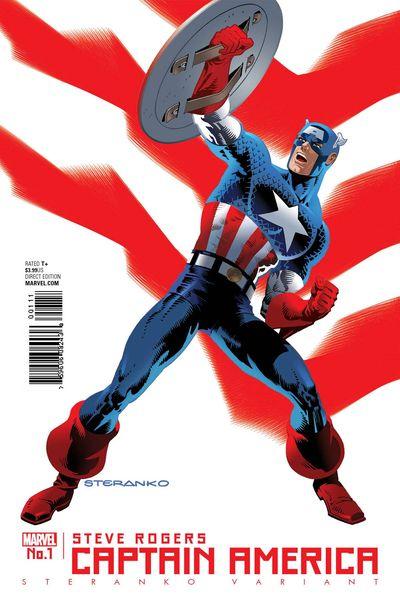 Captain America Steve Rogers #1 (Sternako Variant Cover Edition)