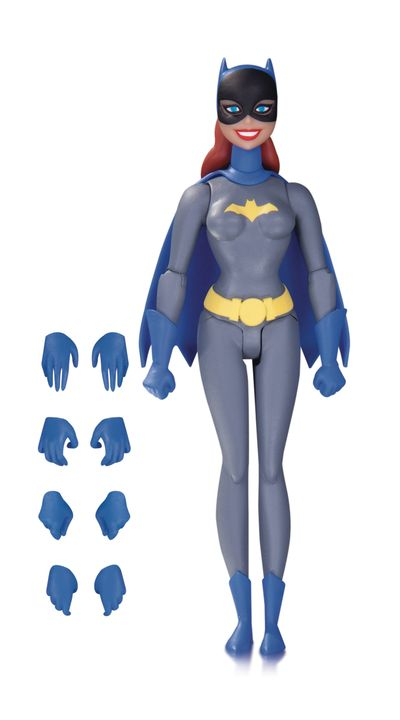 Batman Animated Series Batgirl Action Figure (Graysuit) JAN170425Y