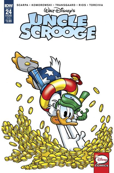 Uncle Scrooge #24 (Subscription Variant)