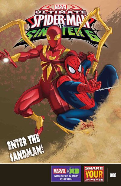 Marvel Universe Ultimate Spider-Man vs. Sinister Six #8 JAN171079D