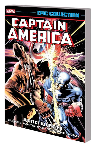 Captain America Epic Collection TPB Justice Is Served JAN171123D