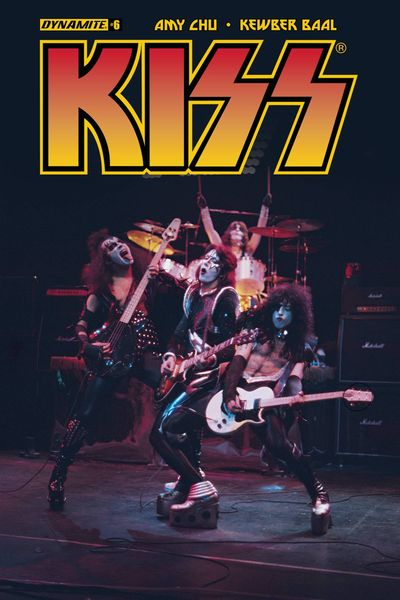 Kiss #6 (Cover C - Photo)