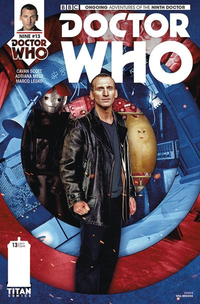 Doctor Who 9th #13 (Cover B - Photo)
