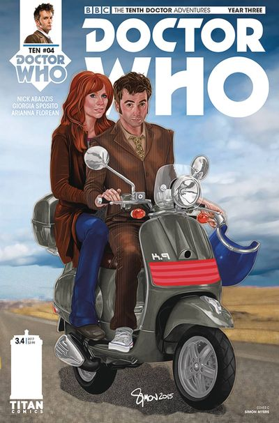 Doctor Who 10th Year 3 #4 (Cover C - Myers)