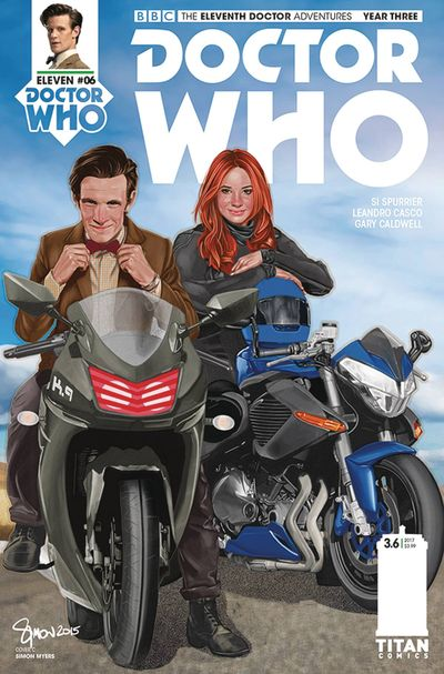 Doctor Who 11th Year 3 #6 (Cover C - Myers)
