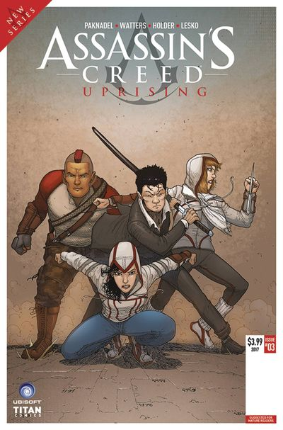 Assassins Creed Uprising #3 (Cover A - Araujo)