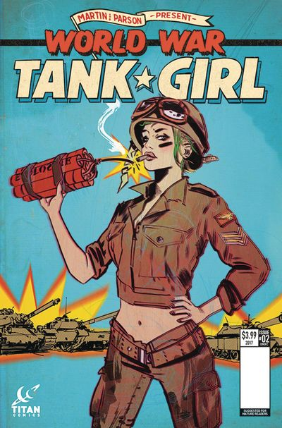 Tank Girl World War Tank Girl #2 (of 4) (Cover C - Lotay)