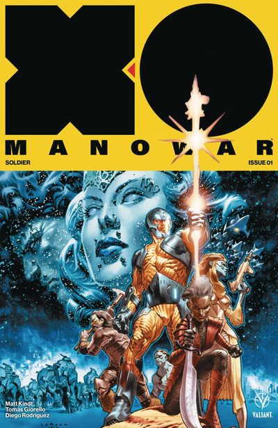 X-O Manowar comics at TFAW.com