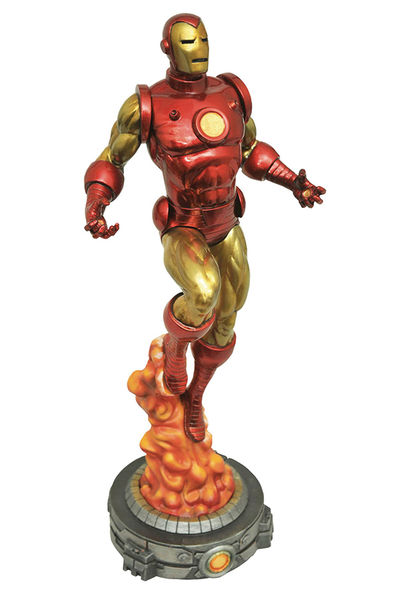Marvel Gallery Bob Layton Iron Man Pvc Figure JAN172648U
