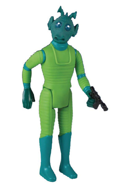Star Wars Kenner-inspired Power Force Greedo Jumbo Action Figure JAN172921I