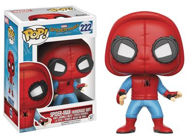 Pop Spider Man Homecoming- Homemade Spider-man Suit Movie Vinyl Figure JAN178400I