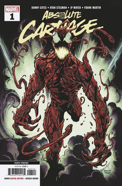 ABSOLUTE CARNAGE #4 OF 5 BY MARVEL! PREORDER EARLYOCTOBER mm