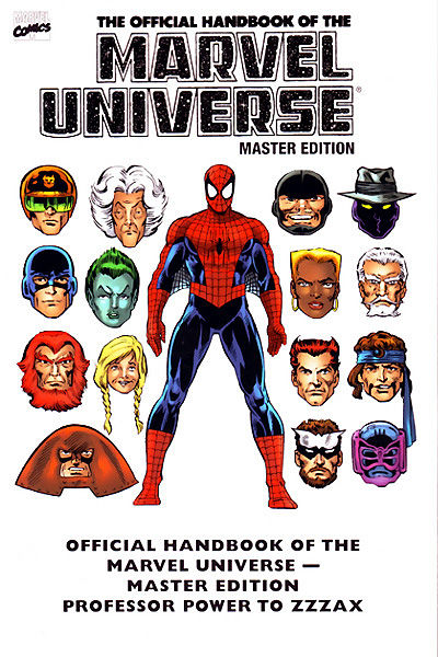 Essential Official Handbook Of The Marvel Universe TPB Vol. 3 (Master Edition) JUL082413D