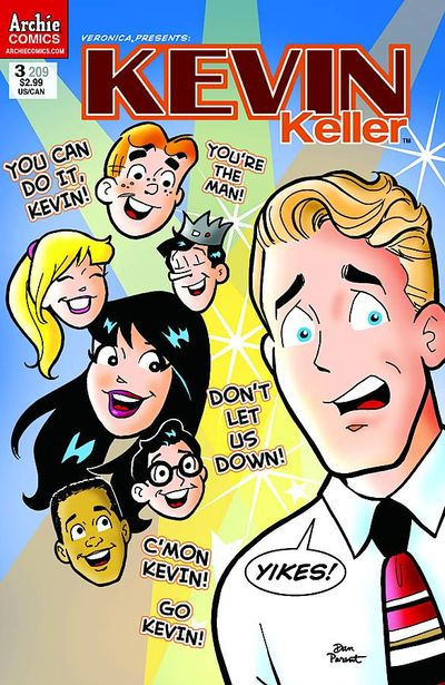 Veronica #209 (Veronica Presents Kevin Keller #3)