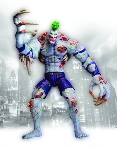 Arkham Asylum Deluxe Titan Joker Action Figure JUL120272X