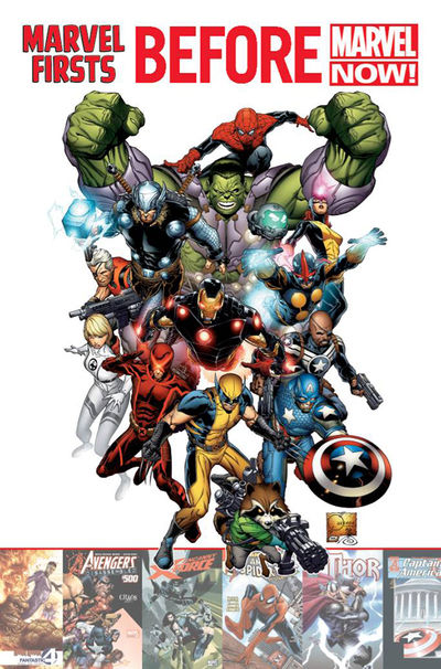 Marvel Firsts Before Marvel Now TPB JUL120683D