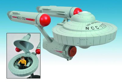 Star Trek (The Original Series) Enterprise Minimate Vehicle Cs JUL121720U