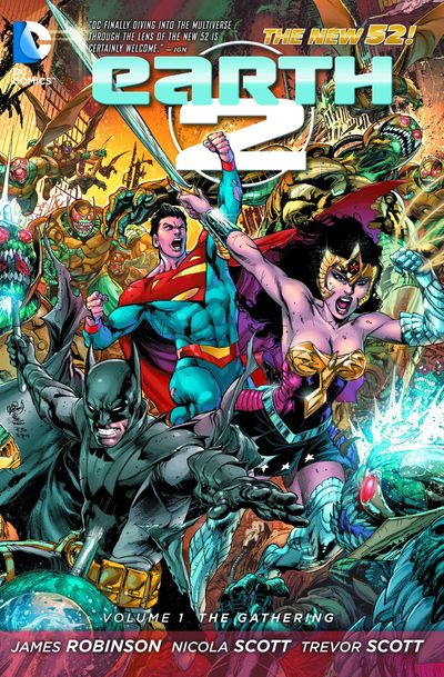 Earth 2 TPB Vol. 1 The Gathering