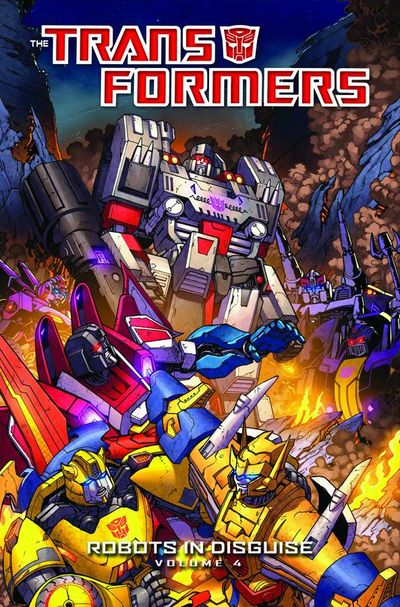 Transformers Robots in Disguise TPB Vol. 04 JUL130361E