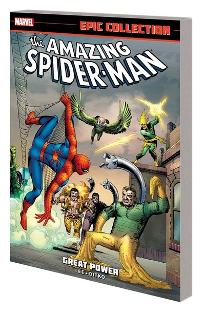 Amazing Spider-Man Epic Collection TPB Great Power JUL140723D