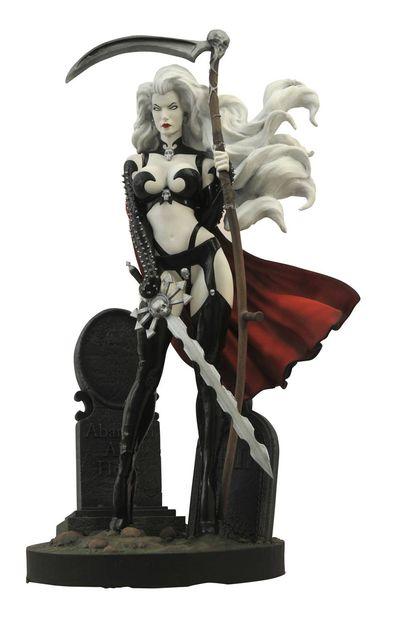 Femme Fatales Lady Death III Pvc Statue