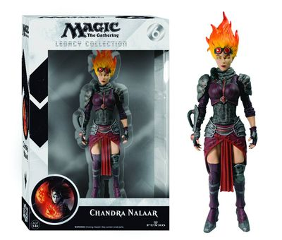 Legacy Magic the Gathering Chandra Nalaar Action Figure JUL142120I