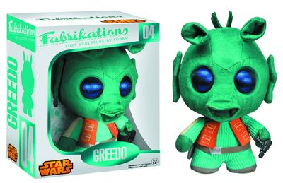 Fabrikations Greedo Soft Sculpt Plush Figure JUL142554I