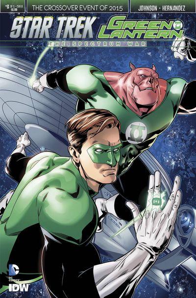 Star Trek Green Lantern #3 (of 6) (Stott Cover)