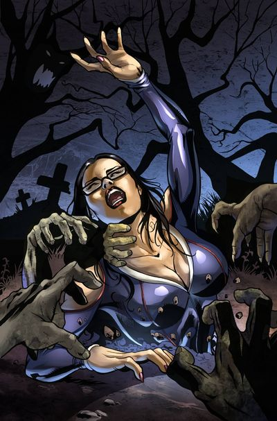 Grimm Fairy Tales Halloween Special 2015 (Cover D - Sanapo)