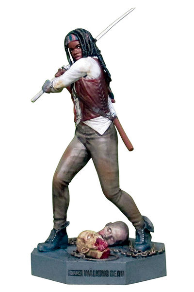 Walking Dead Figure Coll Mag #3 Michonne JUL151889H