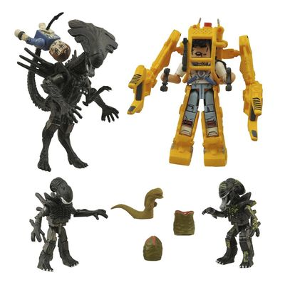Aliens Minimates Deluxe Queen/Power Loader Assortment JUL152206U