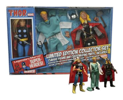Marvel Thor 8in Retro Action Figure Set JUL152207U