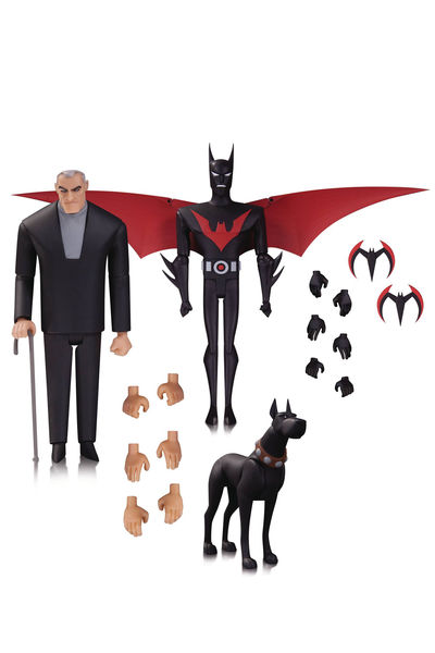 Batman Animated Batman Beyond Action Figure 3 Pack JUL160450Y