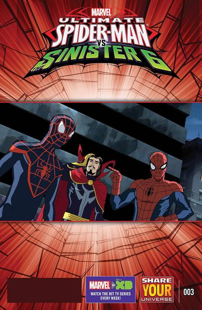 Marvel Universe Ultimate Spider-Man vs. Sinister Six #3 JUL161039D