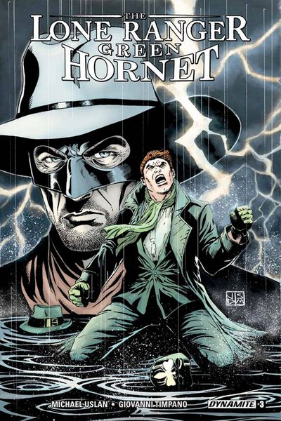 Lone Ranger Green Hornet #3 (of 5)