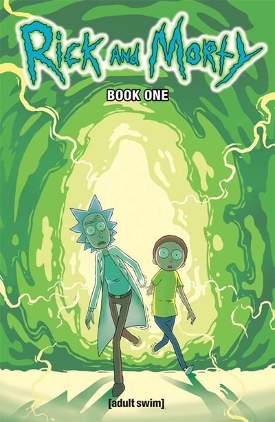 Rick & Morty HC Book 01 JUL161794E