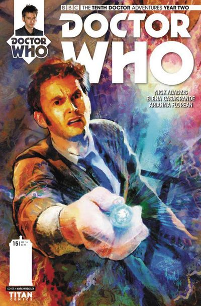 Doctor Who 10th Year 2 #15 (Cover A - Wheatley)