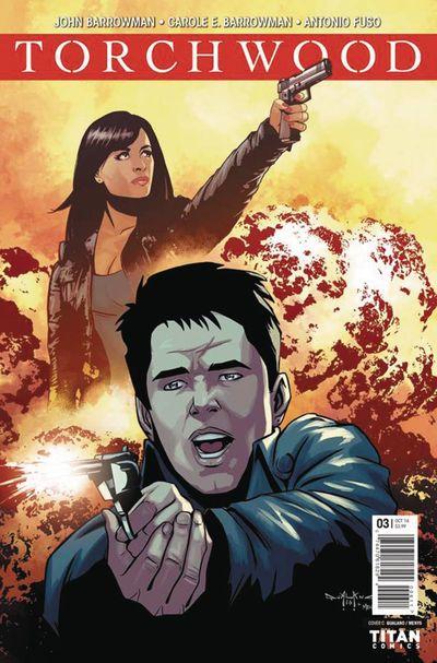 Torchwood #3 (Cover C - Qualano)