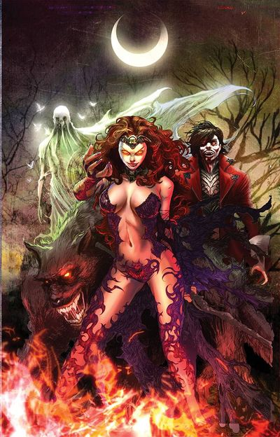 Grimm Fairy Tales Halloween Special 2016 (Cover B - Tolibao)