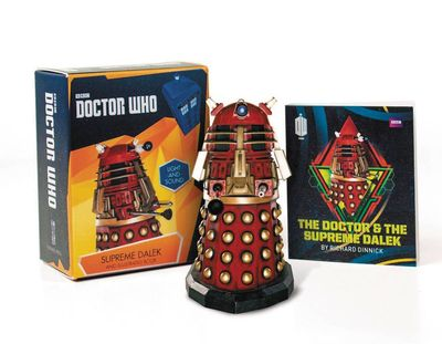 Doctor Who Supreme Dalek Figurine & Book Kit