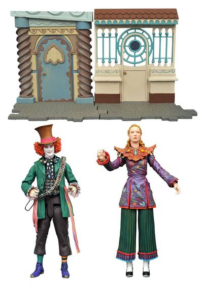 Alice Through the Looking Glass Select Hatter Figure JUL162617I