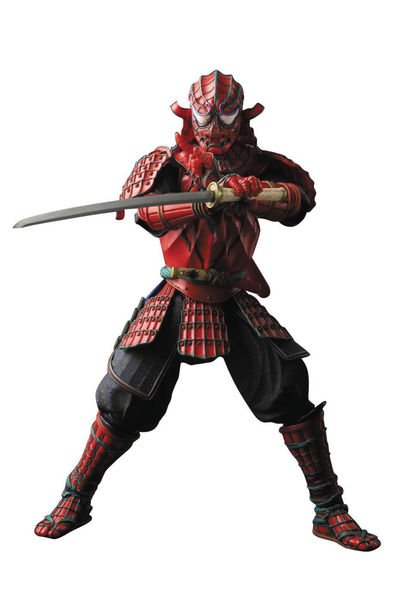 Manga Realization Meisho Samurai Spider-Man Action Figure JUL163079J